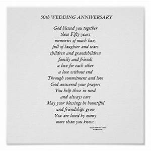 50th wedding anniversary poems 50th wedding anniversary for Poems for a 50th wedding anniversary