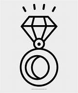 Ring Diamond Coloring Outline Colorear Anillo Colorare Gioielli Disegni Dibujo Diamantes Ultra Anello Diamanti Jing Fm Clip sketch template