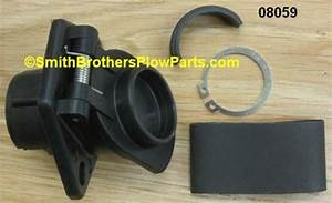 Replacement Hinge Cap For Universal Harness Used On Meyer