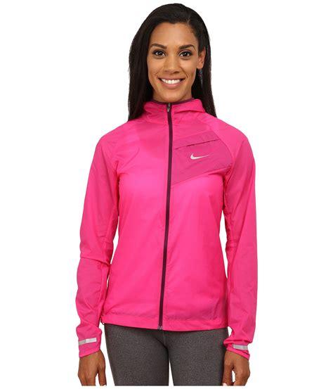 nike light pink windbreaker nike impossibly light jacket in pink vivid pink mulberry