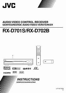 Jvc Rx-d701 Receiver Download Manual For Free Now