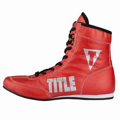 Boxing Shoes Flash Metallic Title Money
