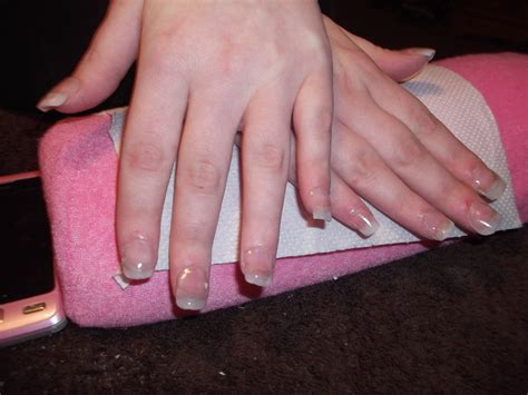 Plain Set Of Acrylic Nails By Akumavonsparkles On Deviantart