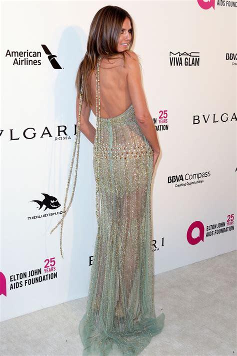 Heidi Klum Elton John Aids Foundation Academy