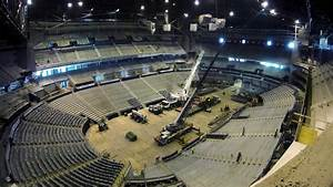 Time-lapse  Philips Arena Transformation