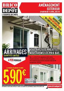 Catalogue brico depot amenagement exterieur avril 2014 for Abri de jardin bois pas cher leroy merlin 16 pergola brico depot