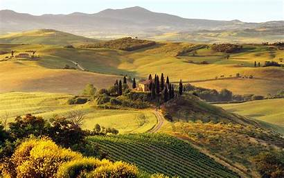 Tuscany Wallpapers Italy Tuscan Italia Landscape Backgrounds