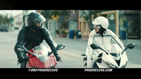 Progressive Motorcycle Tv Commercial, 'flo Rides'