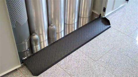od cabinet fold  ramp   gas cylinder