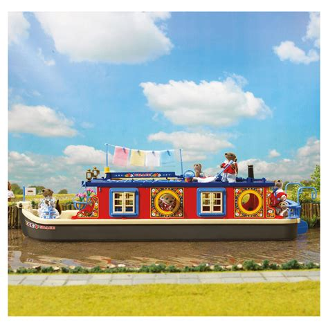 Sylvanian Families Canal Boat by Myshop