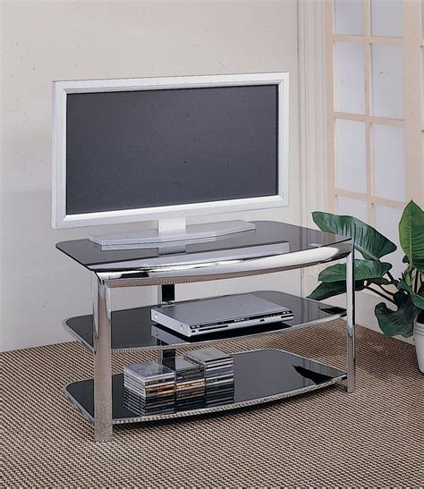 glass metal tv stand tv stands