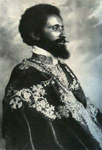 """His Imperial Majesty Haile Selassie I, King of Kings ..."
