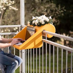 Tisch Für Balkongeländer : balkonzept tisch ablage balkon terrasse modern terrasse berlin von anchovis design ~ Whattoseeinmadrid.com Haus und Dekorationen