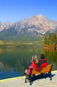 Lake Pyramid Jasper National Park Canada
