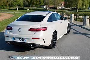 Mercedes Classe C Blanche : essai nouvelle mercedes classe e coup sportline 220d ~ Maxctalentgroup.com Avis de Voitures