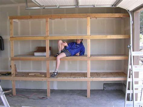 diy garage shelves   inspiration  craft diy