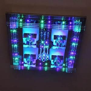 Deckenleuchten Led Mit Fernbedienung : niedervolt led deckenlampe mit fernbedienung farbwechsel und leuchtmitteln wohnlicht ~ Orissabook.com Haus und Dekorationen