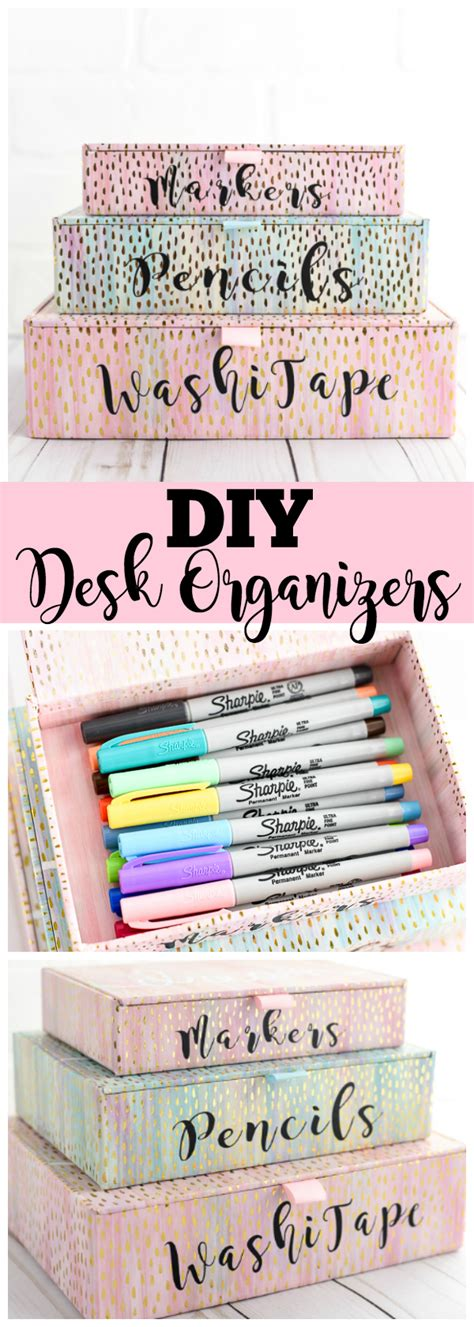 diy desk organizer diy desk organizers