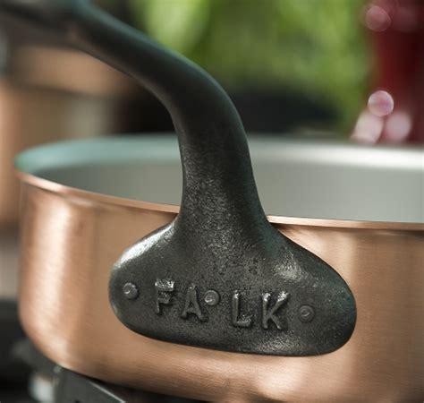copper saute pans falk culinair usa