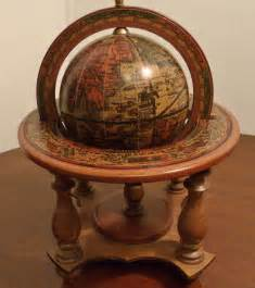 Vintage Old World Desk Globe Made in Italy