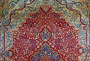 Oriental indian carpet texture stock photo colourbox for Persian carpet texture seamless
