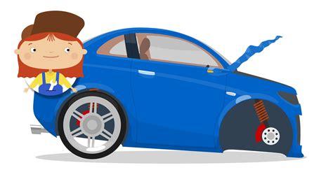 animated wrecked blue cartoon race cars clipart best
