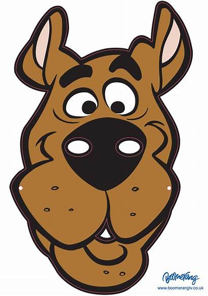 Mask Scooby Doo Face Cake Masks Printable