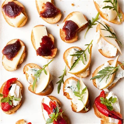cheap easy canapes best canapés recipes recipes