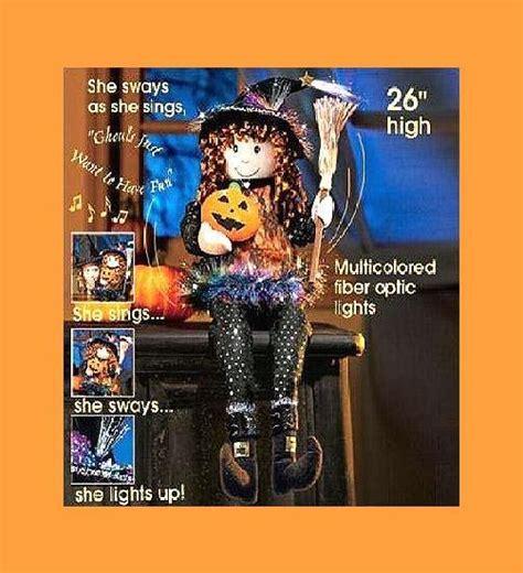 26 quot dancing singing susie the fiber optic witch avon