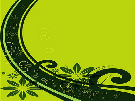 Green Border Presentation Templates for Powerpoint ...