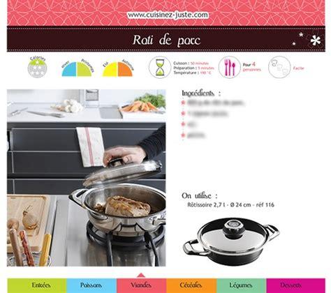 pdf recette cuisine fiche recette viande r 244 ti de porc version pdf cuisine