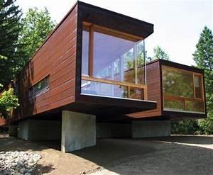 Moderne Container Häuser : architecture pinterest container h user moderne h user ~ Whattoseeinmadrid.com Haus und Dekorationen