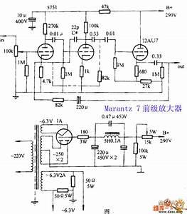 Marantz 7 Preamplifier Circuit - Other Circuit
