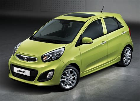 It has a ground clearance of 172 mm and dimensions is 3595 mm l x 1595 mm w x 1495 mm h. Kia Picanto 2012 first photos released | Drive Arabia