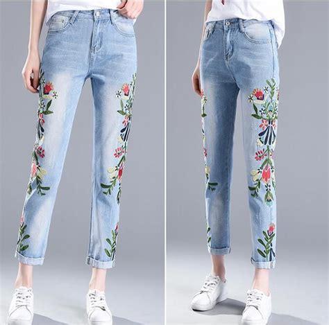 Модные женские джинсы осеньзима 20192017 фото
