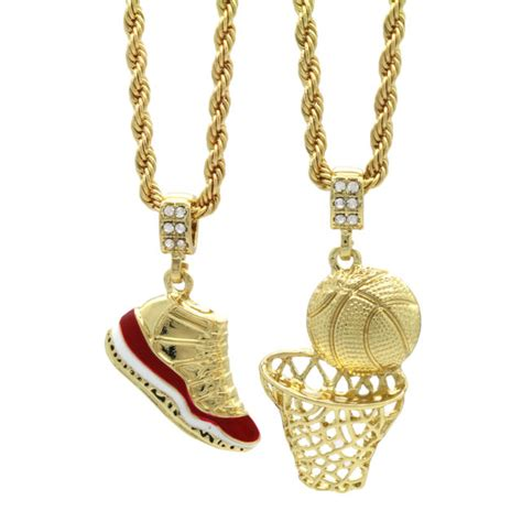 "Gold Plated Hip Hop Retro 11 ""cherry"" & Basketball Pendant. Emerald Cut Diamond Anniversary Band. 18k Bangles. 1 Million Dollar Wedding Rings. Patterned Wedding Rings. Gemstones Sapphire. Engagment Rings. Mandala Pendant. 24 Karat Earrings"