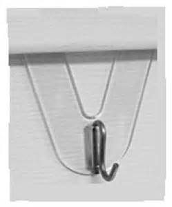 amazon com dyno seasonal solutions 10842bl2 2 count vinyl siding hook hooks for vinyl siding