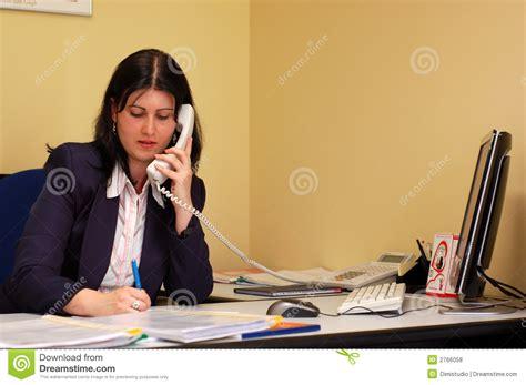 femme de m age bureau femmes de bureau photos libres de droits image 2766058