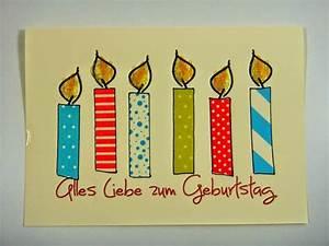 Geburtstagskarten Basteln Ideen : ines felix kreatives zum nachmachen geburtstagskarte mit masking tape kerzen ~ Watch28wear.com Haus und Dekorationen