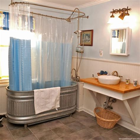 Trough Bathtub Ideas by Trough Tub Shower For The Home