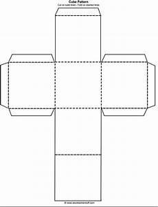 Cube Outline Free Printable | teaching: free printables ...