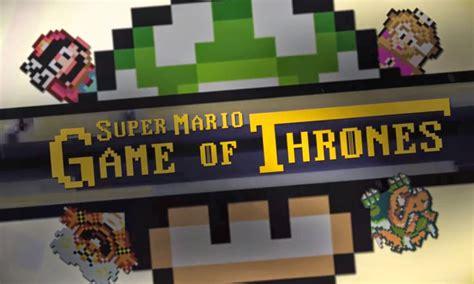 Game Of Thrones Gets A 16 Bit Super Mario World Parody