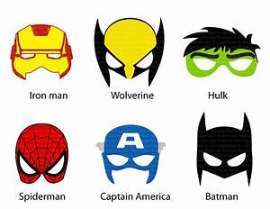 avengers mask template - masks clipart marvel pencil and in color masks clipart