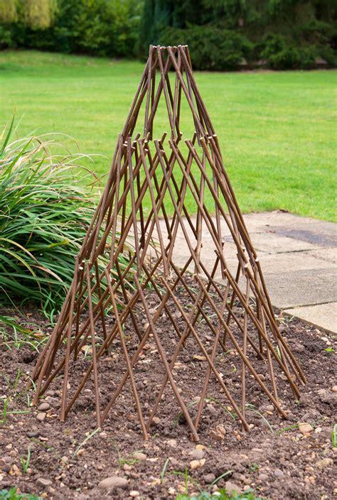 expandable garden willow obelisk
