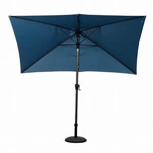 Parasol Inclinable Rectangulaire : parasol inclinable rectangulaire fidji l3 x l2 m orage parasol voile et paravent eminza ~ Teatrodelosmanantiales.com Idées de Décoration