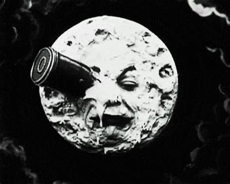 georges méliès a trip to the moon le voyage dans la lune film gif by hoppip find share