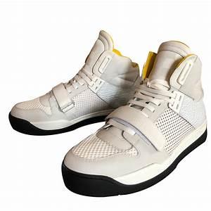 Sneakers Louis Vuitton Homme : baskets homme louis vuitton sneakers cuir autre blanc ref ~ Nature-et-papiers.com Idées de Décoration