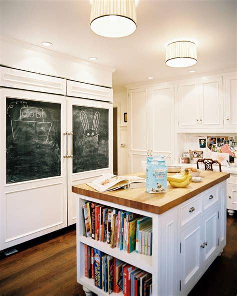 chalkboards in kitchens chalkboard fun cool kitchen ideas lonny