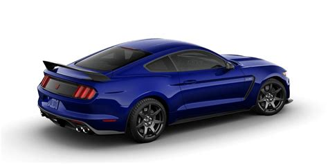 2016 shelby ford mustang gt350r colors
