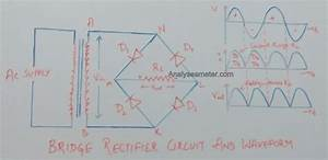 Full Wave Bridge Rectifier Circuit  Easy Explanation